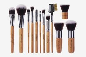 the best bamboo handle makeup brush set