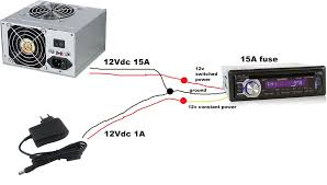 wiring car amp to home stereo wiring solutions car stereo power supply at Car Stereo Power Supply