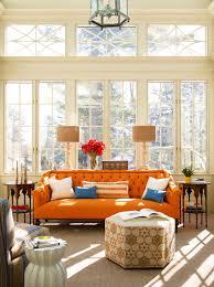 Orange Decor For Living Room Burnt Orange Living Room Decor Orange Living Room Living Room