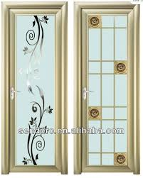 modern bathroom door design with aluminum glass door frame modern bathroom door aluminum