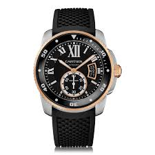 mens dive watches the watch gallery cartier calibre de cartier diver automatic stainless steel black dial mens watch w7100055