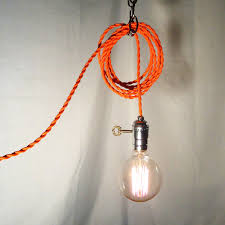 hanging lights that plug in simple