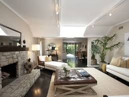track lighting living room. Track Lighting Emphasizes The Living Room 39 S Long Lean Lines Step I