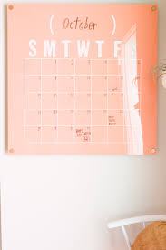 easy calendars easy oversized acrylic calendar a beautiful mess