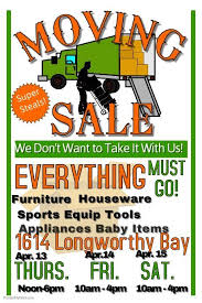 Copy Of Moving Sale Misc Pinterest Sale Flyer Yard Sale And