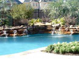 ... Exterior Design, Pools And Spas Waterfeatures Boulder Falls Southlake  Texas Pool Waterfalls: Swimming Pool ...