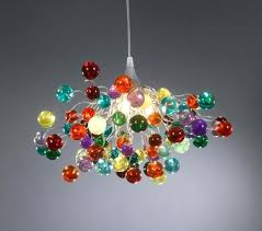 multi colored chandelier multi colored blown glass chandelier