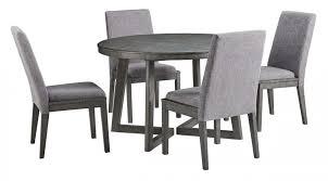 ashley furniture besteneer round dining set in dark grey zoom