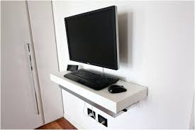 wall mounted computer desk mind blowing bedroom design and decoration with wall mounted computer desk charming