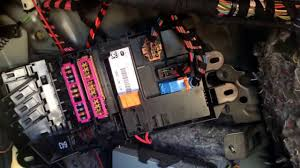 audi a6 2004 2011 rear trunk fuse box location audi a6 2004 2011 rear trunk fuse box location