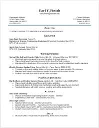 Example Of College Resume Gorgeous what to put on a college resumes what to put on a college resumes