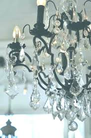 sensational fascinating wrought iron crystal lier black and white iron and crystal liers iron orb crystal chandelier
