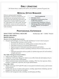 Office Manager Resume Sample Fascinating Office Manager Resume Samples Medical Sample Dental Front