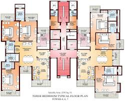 Mutable India Luxury Apartment Plans 3 Bedroom ...