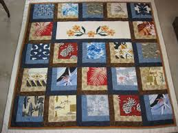 94 best Hawaiian quilts images on Pinterest   Patterns, Bags and ... & Memory quilt for friend using her granddad's Hawaiian shirts Adamdwight.com