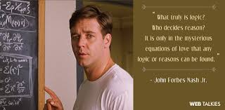 The Beautiful Mind Quotes Best Of Inspiring Quotes From A Beautiful Mind Mathematics Day Special
