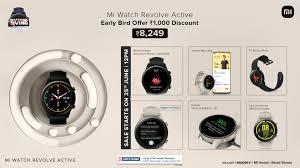 The new Xiaomi Mi Watch Revolve Active ...