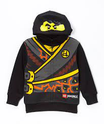 Another great find on #zulily! Black LEGO Ninjago Character Zip-Up Hoodie -  Boys by LEGO #zulilyfinds | Lego ninjago, Boys hoodies, Hoodies