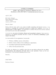 administration job sample cover letter cover letter for job