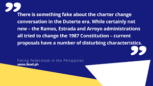 faking federalism in the philippines