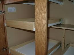 Kitchen Cabinet Sliding Shelf Kitchen Cabinet Pull Out Shelves Hardware Monsterlune