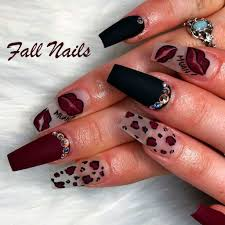Fall Nail Designs 2018 The Best Nail Trends For Cute Fall Manicure Stylish Belles