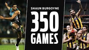 Burgoyne, 38, will this weekend play his 407th and final game for the hawks, who clash with richmond on saturday in the final round of. 350 Games Of Pure Silk From Burgoyne Round 13 2018 Afl Youtube