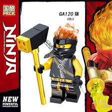 Minifigures Ninjago Các Nhân Vật Jay Jane Kai Lloyd Nya Cole Phiên Bản Mới  Nhất GA115 GA116 GA117