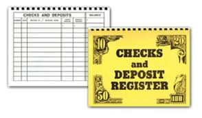 Super Large Print Check Register