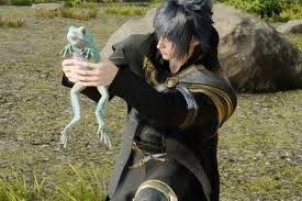 final fantasy 15 the professor s protege red frog and yellow frog locations eurogamer net