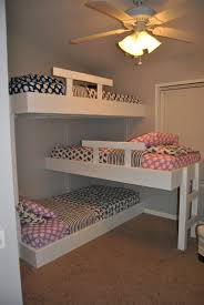 Small Bedroom Bunk Beds Life With Mack Macy Molly Triple Bunk Beds Small Bedroom