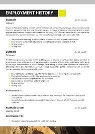 Mine Resume Resume For Study