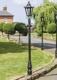 2 3m victorian lamp post the english