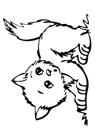 Cute Puppy And Kitten Coloring Pages Coloring Pages Of Cute Dogs And