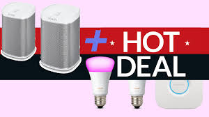 Sonos Hue Lights Philips Hue Bulb Deal For Sonos Fans Get 150 Off A Hue And