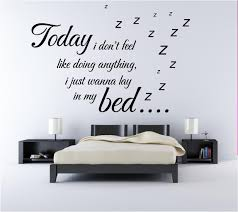 creative wall sticker for modern bedrooms  give a touch of