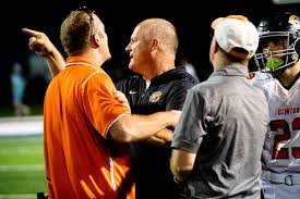 Clinton football coach reacts to suspension after postgame altercation
