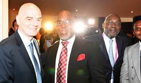 FIFA President, Secretary Visits Nigeria Tomorrow (Photo)
