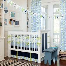 furniture boy nursery bedding beautiful happy bright blue and green colors for baby boy s