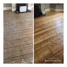sanding floorboards es