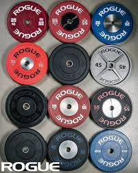 rogue fitness has every sort of olympic size weight plate you may need pers