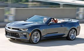 Camaro chevy camaro ss automatic : 2016 Chevrolet Camaro SS Convertible Test – Review – Car and Driver