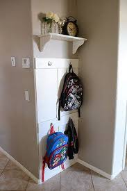 Kids Coat Rack With Storage 100 Backpack Storage Ideas When You Don't Have A Mudroom Backpack 54