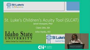 St Lukes Childrens Pediatric Care Coordination Acuity Tool