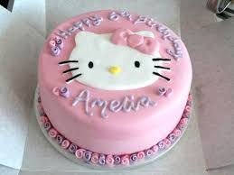Hello Kitty Birthday Cake Easy Party Hello Kitty Cake Hello