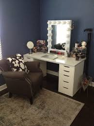 make your own vanity drawers ikea alex table top ikea linnmon mirror vanity girl hollywood bedrooms ikea alex mirror vanity and