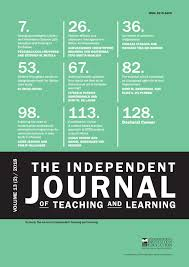 Pro Ed Speech And Language Development Chart The Independent Journal Of Teaching And Learning Vol 13 2