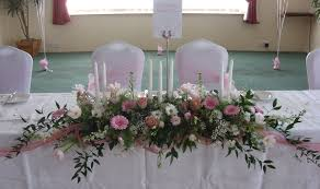 top table flower arrangements for weddings gorgeous top table wedding  flowers wedding guide beautiful