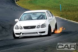 Drift Car With Rotor Turbo Nitrous Lexus
