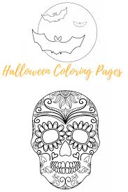 Choose your favorite coloring page and color it in bright colors. Free Halloween Coloring Pages Whisky Sunshine